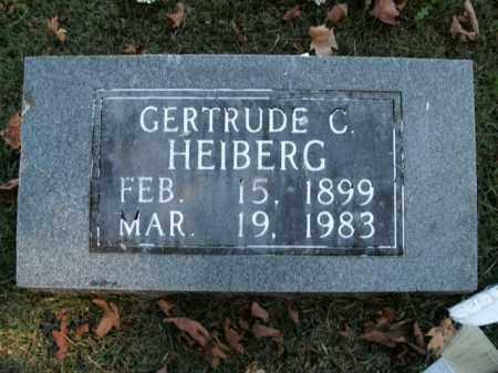 HEIBERG, GERTRUDE C. - Boone County, Arkansas | GERTRUDE C. HEIBERG - Arkansas Gravestone Photos