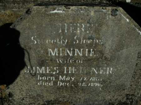 HEIFNER, MINNIE - Boone County, Arkansas | MINNIE HEIFNER - Arkansas Gravestone Photos