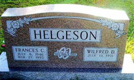 HELGESON, FRANCES C. - Boone County, Arkansas | FRANCES C. HELGESON - Arkansas Gravestone Photos