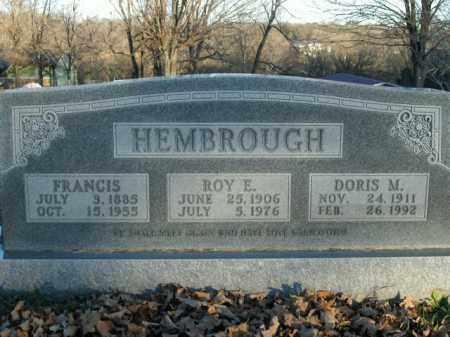 HEMBROUGH, DORIS MAY - Boone County, Arkansas | DORIS MAY HEMBROUGH - Arkansas Gravestone Photos