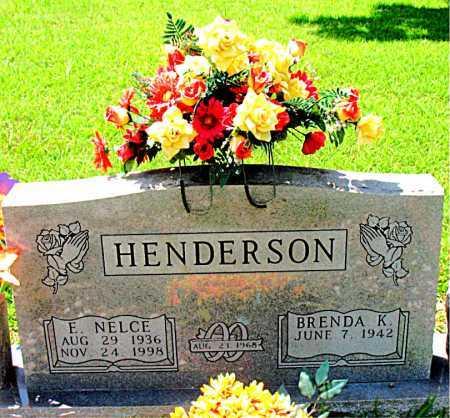 HENDERSON, E. NELCE - Boone County, Arkansas | E. NELCE HENDERSON - Arkansas Gravestone Photos
