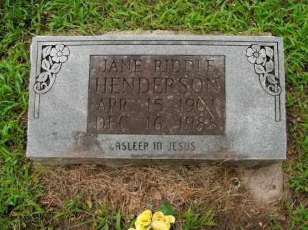GREER HENDERSON, JANE ALMEDA - Boone County, Arkansas | JANE ALMEDA GREER HENDERSON - Arkansas Gravestone Photos