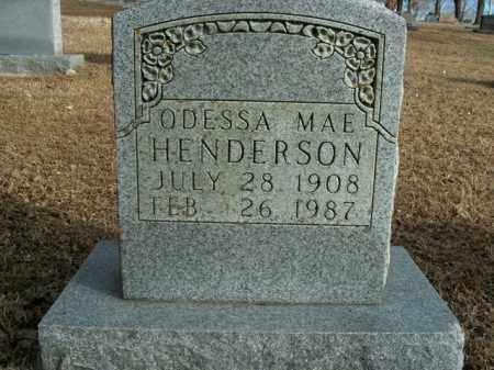 HENDERSON, ODESSA MAE - Boone County, Arkansas | ODESSA MAE HENDERSON - Arkansas Gravestone Photos