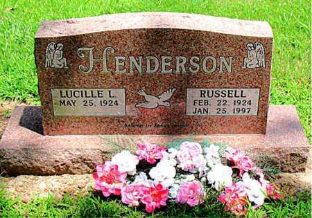 HENDERSON, RUSSELL - Boone County, Arkansas | RUSSELL HENDERSON - Arkansas Gravestone Photos