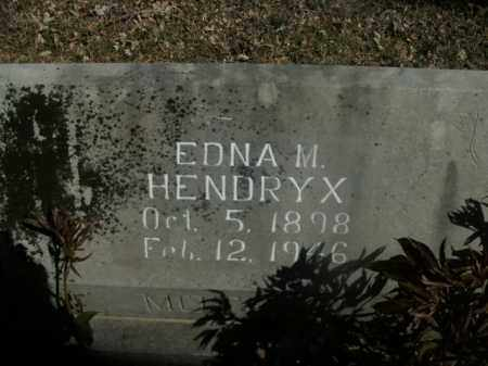 HENDRYX, EDNA M. - Boone County, Arkansas | EDNA M. HENDRYX - Arkansas Gravestone Photos