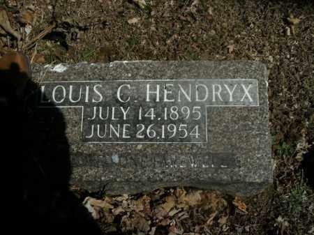 HENDRYX, LOUIS C. - Boone County, Arkansas | LOUIS C. HENDRYX - Arkansas Gravestone Photos