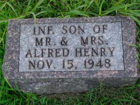 HENRY, INFANT SON - Boone County, Arkansas | INFANT SON HENRY - Arkansas Gravestone Photos