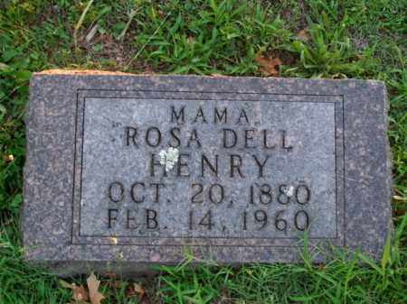 HENRY, ROSA DELL - Boone County, Arkansas | ROSA DELL HENRY - Arkansas Gravestone Photos