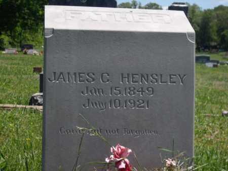 HENSLEY, JAMES C. - Boone County, Arkansas | JAMES C. HENSLEY - Arkansas Gravestone Photos