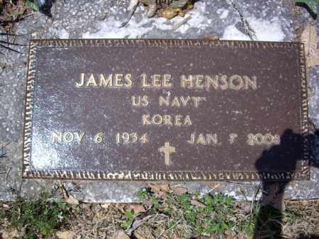 HENSON  (VETERAN KOR), JAMES LEE - Boone County, Arkansas | JAMES LEE HENSON  (VETERAN KOR) - Arkansas Gravestone Photos