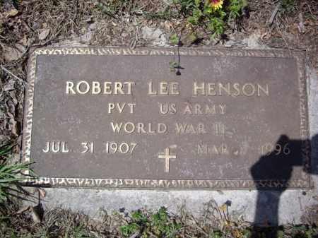 HENSON  (VETERAN WWII), ROBERT LEE - Boone County, Arkansas | ROBERT LEE HENSON  (VETERAN WWII) - Arkansas Gravestone Photos