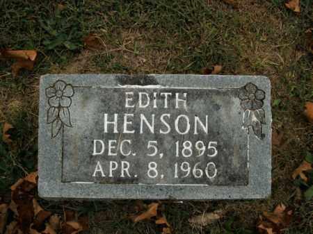 HENSON, EDITH - Boone County, Arkansas | EDITH HENSON - Arkansas Gravestone Photos