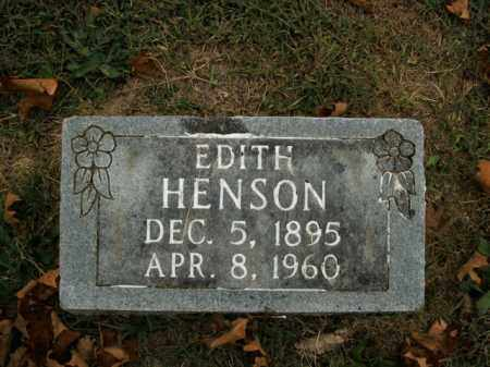 HENSON, EDITH - Boone County, Arkansas | EDITH HENSON - Arkansas Gravestone Photos