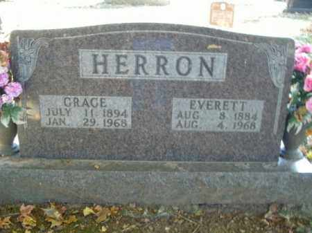 HERRON, EVERETT - Boone County, Arkansas | EVERETT HERRON - Arkansas Gravestone Photos