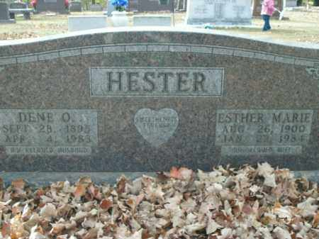 HESTER, DENE O. - Boone County, Arkansas | DENE O. HESTER - Arkansas Gravestone Photos