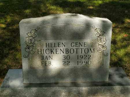 HICKENBOTTOM, HELEN GENE - Boone County, Arkansas | HELEN GENE HICKENBOTTOM - Arkansas Gravestone Photos