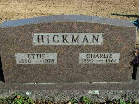 HICKMAN, CHARLIE - Boone County, Arkansas | CHARLIE HICKMAN - Arkansas Gravestone Photos
