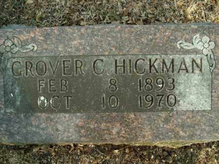 HICKMAN, GROVER C. - Boone County, Arkansas | GROVER C. HICKMAN - Arkansas Gravestone Photos