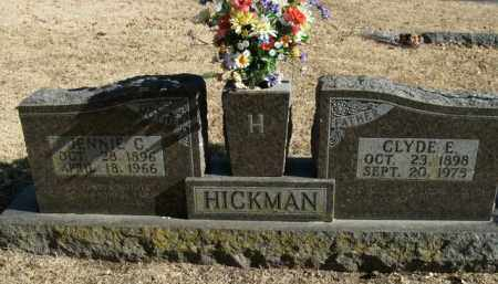 HICKMAN, JENNIE C. - Boone County, Arkansas | JENNIE C. HICKMAN - Arkansas Gravestone Photos