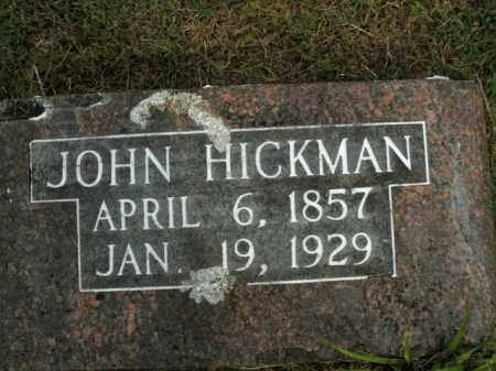 HICKMAN, JOHN - Boone County, Arkansas | JOHN HICKMAN - Arkansas Gravestone Photos