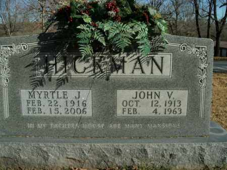HICKMAN, MYRTLE J. - Boone County, Arkansas | MYRTLE J. HICKMAN - Arkansas Gravestone Photos