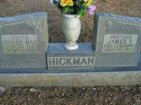 HICKMAN, JAMES V. - Boone County, Arkansas | JAMES V. HICKMAN - Arkansas Gravestone Photos