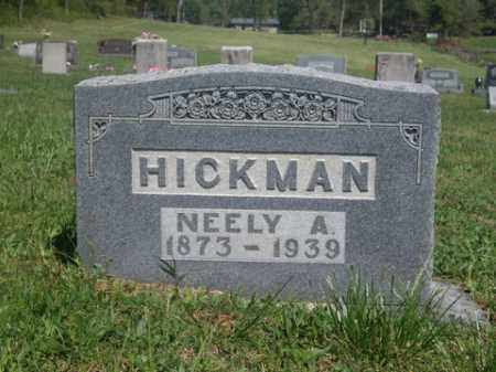 HICKMAN, NEELY A. - Boone County, Arkansas | NEELY A. HICKMAN - Arkansas Gravestone Photos