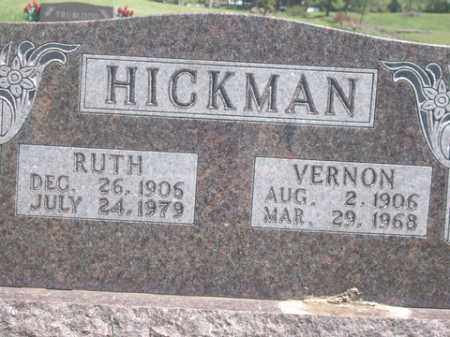 HICKMAN, RUTH - Boone County, Arkansas | RUTH HICKMAN - Arkansas Gravestone Photos