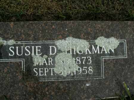 HICKMAN, SUSIE D. - Boone County, Arkansas | SUSIE D. HICKMAN - Arkansas Gravestone Photos