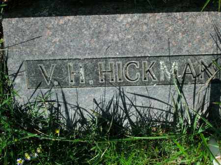 HICKMAN, VACHEL H - Boone County, Arkansas | VACHEL H HICKMAN - Arkansas Gravestone Photos