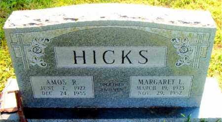 HICKS, MARGARET - Boone County, Arkansas | MARGARET HICKS - Arkansas Gravestone Photos