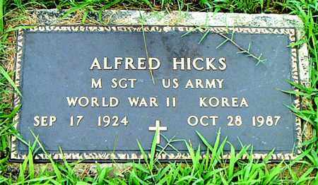HICKS  (VETERAN 2 WARS), ALFRED - Boone County, Arkansas | ALFRED HICKS  (VETERAN 2 WARS) - Arkansas Gravestone Photos