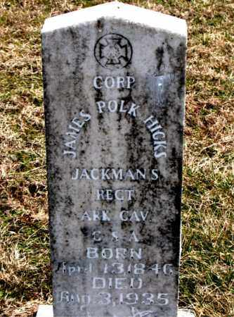 HICKS  (VETERAN CSA), JAMES POLK - Boone County, Arkansas | JAMES POLK HICKS  (VETERAN CSA) - Arkansas Gravestone Photos