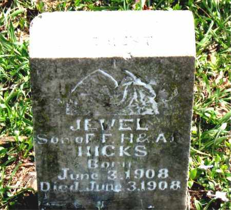 HICKS, JEWEL - Boone County, Arkansas | JEWEL HICKS - Arkansas Gravestone Photos