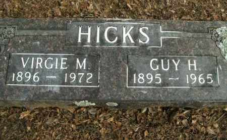 HICKS, GUY H. - Boone County, Arkansas | GUY H. HICKS - Arkansas Gravestone Photos