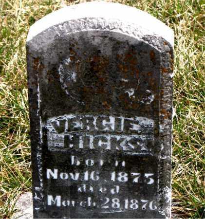 HICKS, VIRGIE - Boone County, Arkansas | VIRGIE HICKS - Arkansas Gravestone Photos