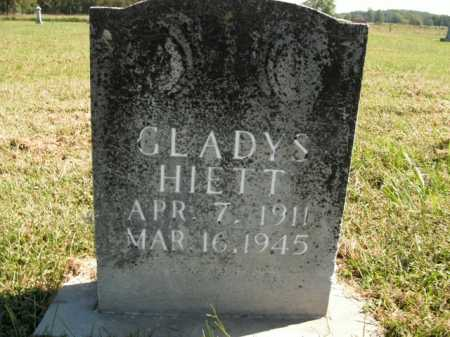 HIETT, GLADYS - Boone County, Arkansas | GLADYS HIETT - Arkansas Gravestone Photos
