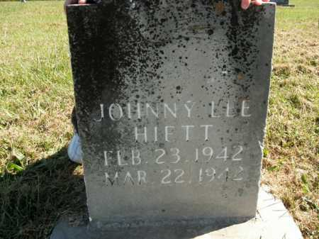 HIETT, JOHNNY LEE - Boone County, Arkansas | JOHNNY LEE HIETT - Arkansas Gravestone Photos