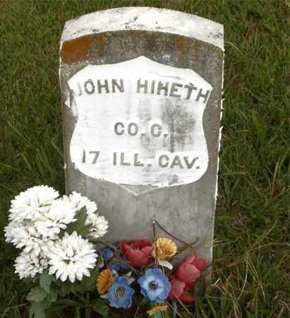 HIHETH (VETERAN UNION), JOHN - Boone County, Arkansas   JOHN HIHETH (VETERAN UNION) - Arkansas Gravestone Photos