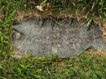 HILL  (VETERAN WWI), CLAUD - Boone County, Arkansas | CLAUD HILL  (VETERAN WWI) - Arkansas Gravestone Photos