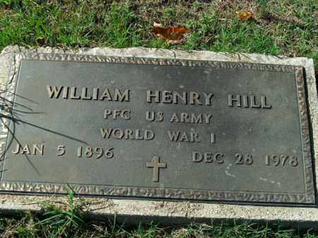 HILL  (VETERAN WWI), WILLIAM HENRY - Boone County, Arkansas | WILLIAM HENRY HILL  (VETERAN WWI) - Arkansas Gravestone Photos