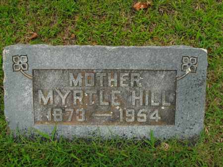HILL, MYRTLE - Boone County, Arkansas | MYRTLE HILL - Arkansas Gravestone Photos