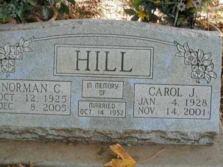 HILL, NORMAN C. - Boone County, Arkansas | NORMAN C. HILL - Arkansas Gravestone Photos