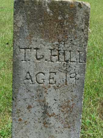 HILL, T.J. - Boone County, Arkansas | T.J. HILL - Arkansas Gravestone Photos