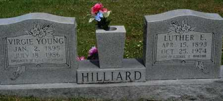 YOUNG HILLIARD, VIRGIE - Boone County, Arkansas | VIRGIE YOUNG HILLIARD - Arkansas Gravestone Photos