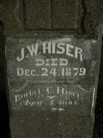 HISER, J. W. - Boone County, Arkansas | J. W. HISER - Arkansas Gravestone Photos