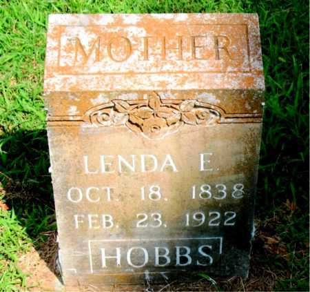 HOBBS, LENDA E. - Boone County, Arkansas | LENDA E. HOBBS - Arkansas Gravestone Photos