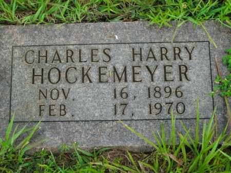 HOCKEMEYER, CHARLES HARRY - Boone County, Arkansas | CHARLES HARRY HOCKEMEYER - Arkansas Gravestone Photos