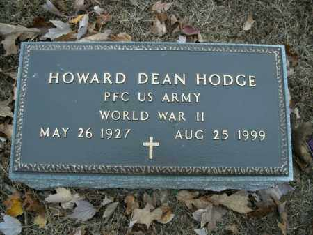 HODGE  (VETERAN WWII), HOWARD DEAN - Boone County, Arkansas | HOWARD DEAN HODGE  (VETERAN WWII) - Arkansas Gravestone Photos