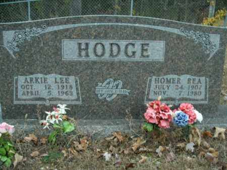 HODGE, HOMER REA - Boone County, Arkansas | HOMER REA HODGE - Arkansas Gravestone Photos